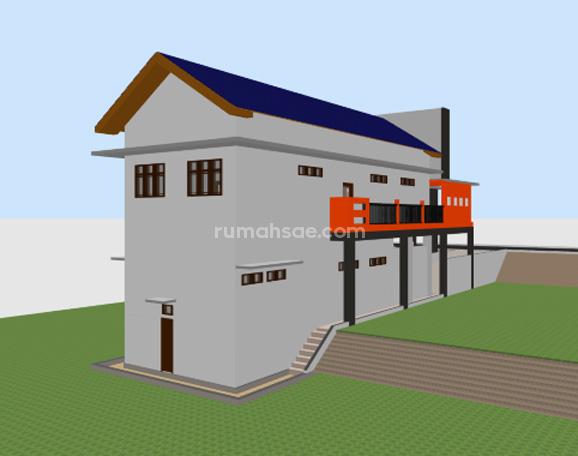 Desain Gedung Koperasi