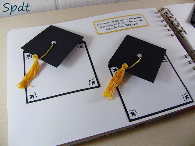 libro graduación scrap