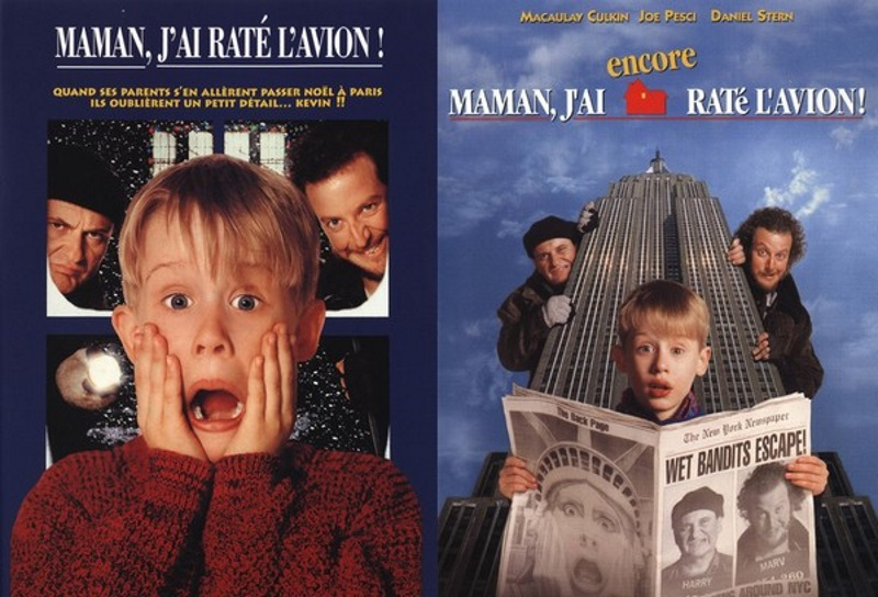 Home alone film noël