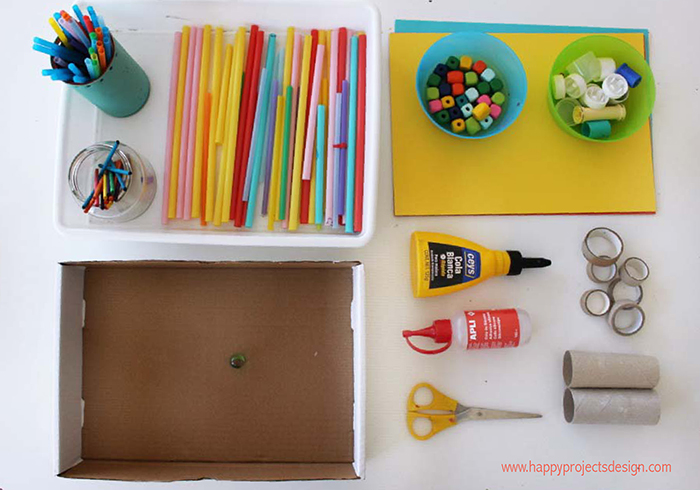 Juguetes DIY: laberinto para canicas