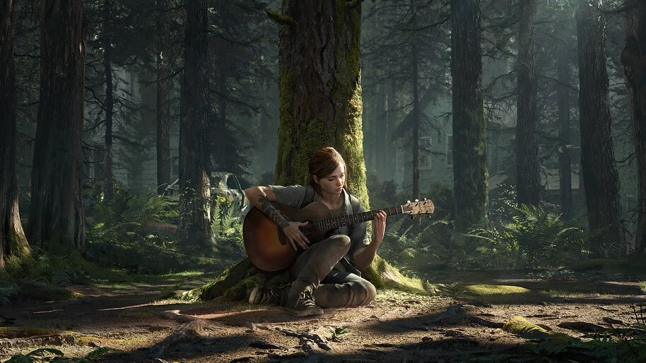 The Last of Us Part 2, Ellie, Guitar, 4K, #7.1128