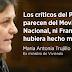 """Ex ministra socialista """"explota"""" y carga contra Susana Díaz y los barones."""