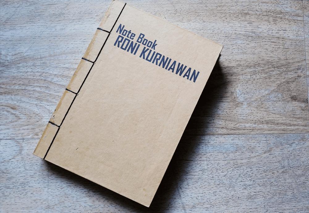 Handmade Notebook JL Keren Creative Roni Kurniawan Note Book