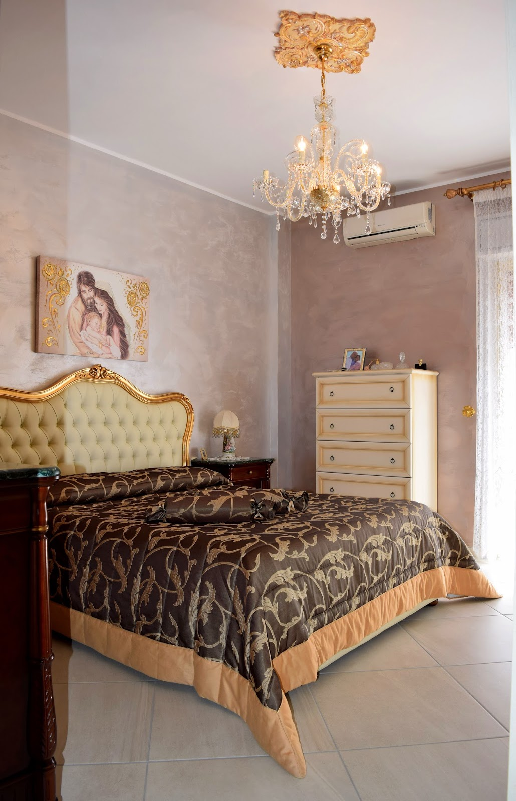 Architetto gaetano frud stanza da letto classica - Stanza da letto classica ...