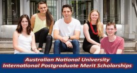 International Postgraduate Merit Scholarships at ANU in Australia, 2017