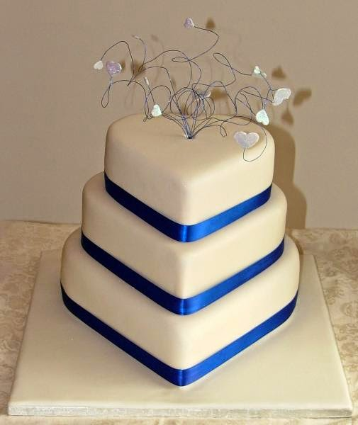 two tier heart shaped wedding cake the powerbake 21343