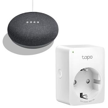 Google Home Mini + Tapo P100