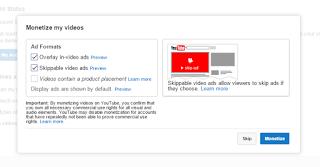 Cara menerapkan Iklan Adsense Di YouTube Dengan Mudah