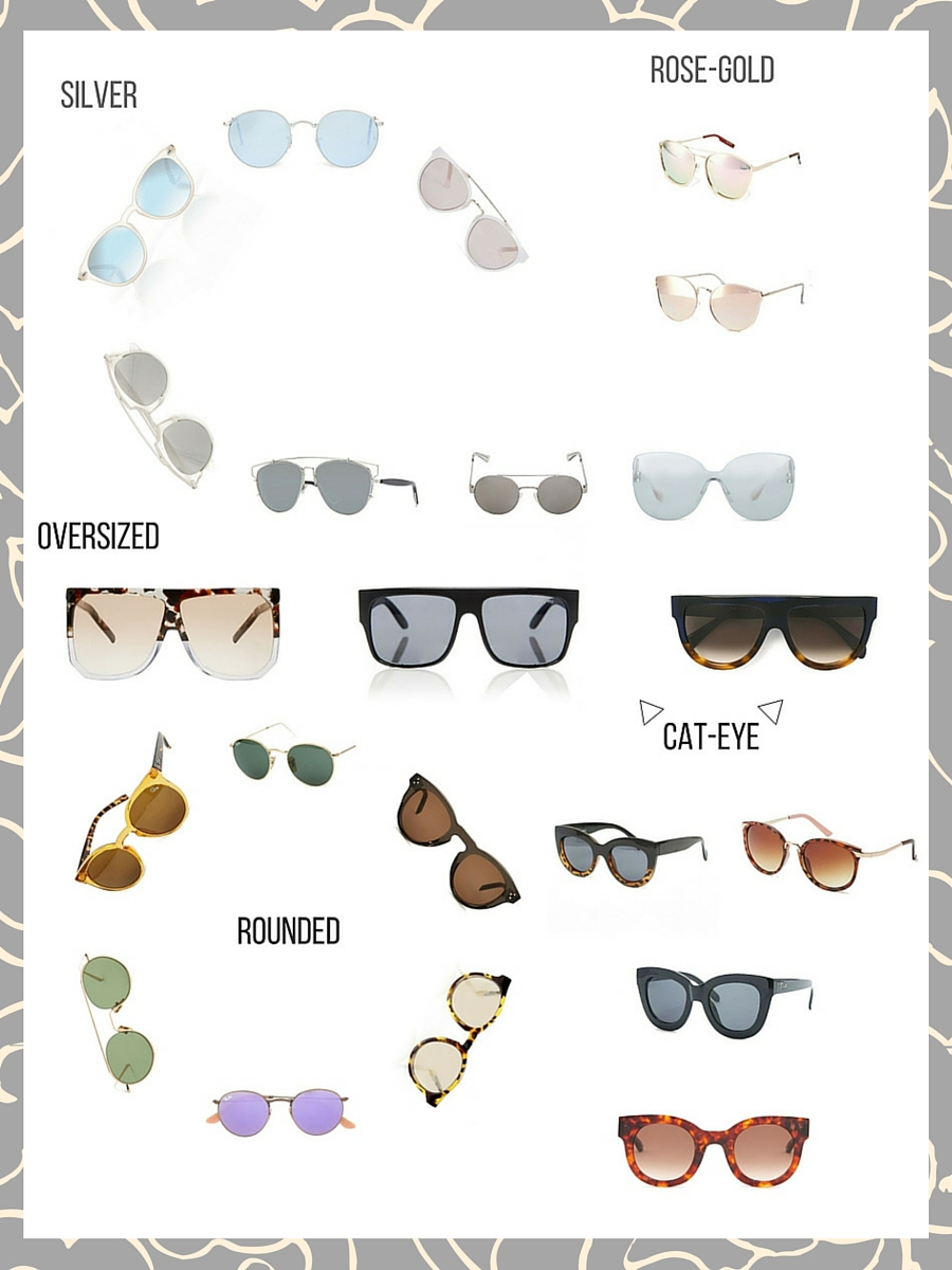 The Perfect Sunglasses for Summer 2016 - www.theblushfulhippocrene.blogspot.com