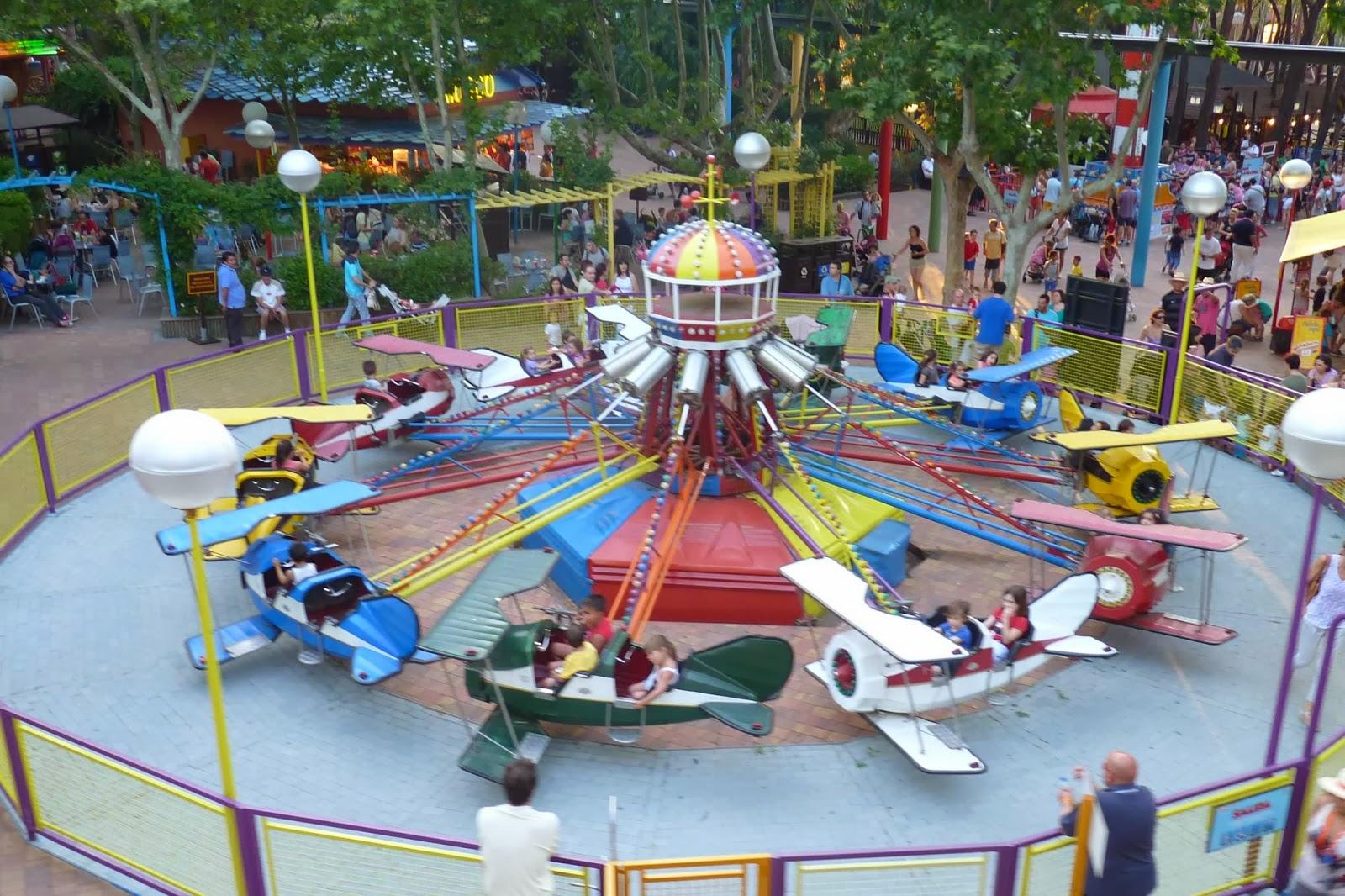 Turbulencias. Parque de Atracciones de Madrid.