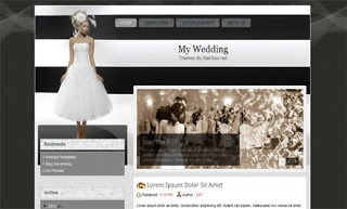 My Wedding Blogger Template