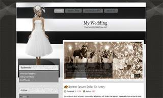 My Wedding Blogger Template