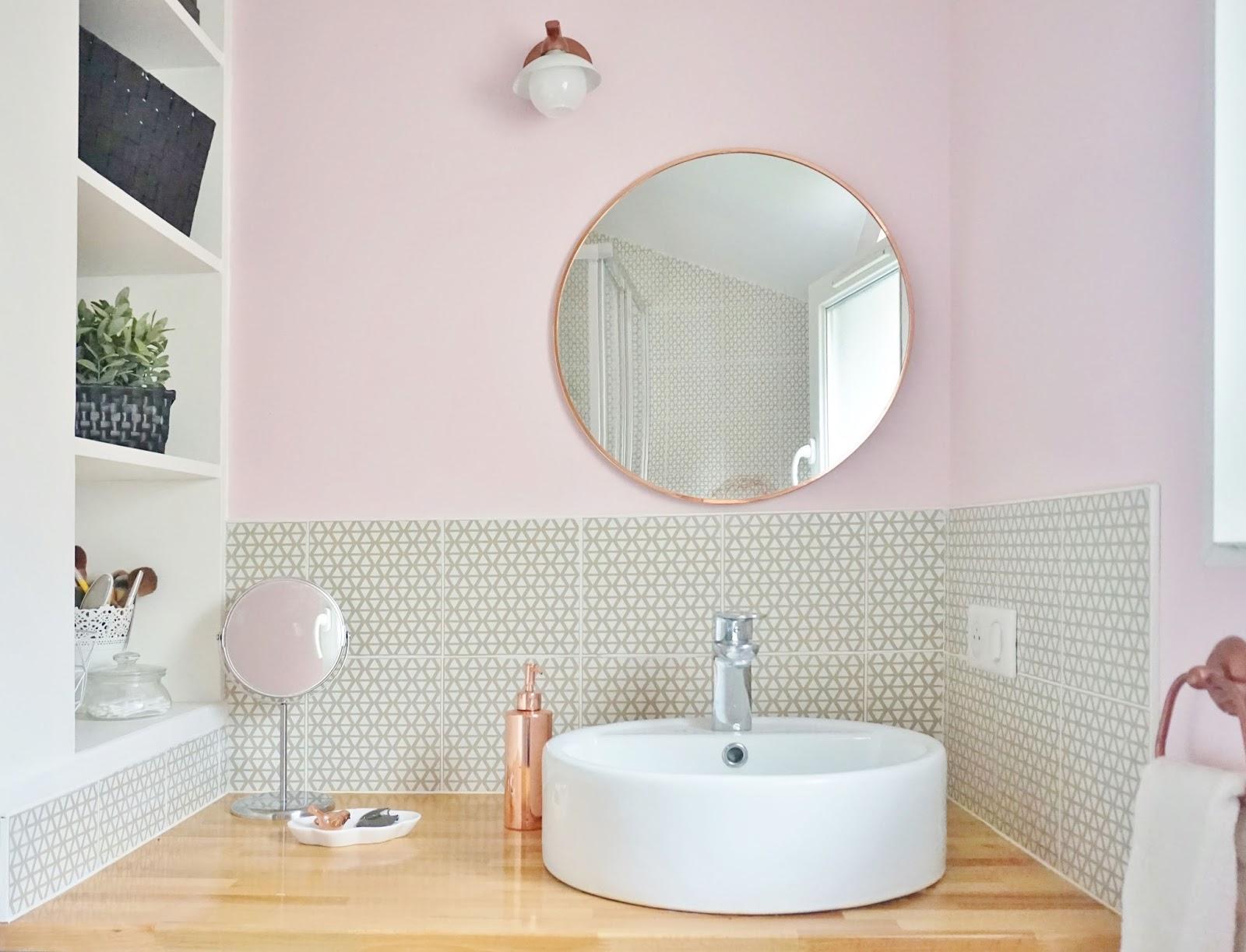 Salle De Bain Rose Poudre ~ salle de bain rose pale