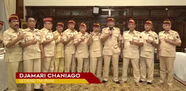 Letjen TNI (Purn) Djamari: Jangan Takut, Menangkan Prabowo-Sandi