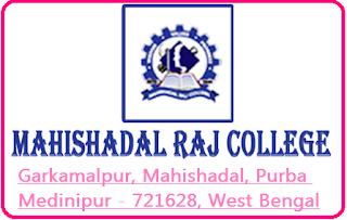 Mahishadal Raj College, Garkamalpur, Mahishadal, Purba Medinipur - 721628, West Bengal