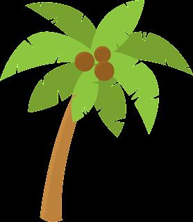 Clipart de Luau para Niños.