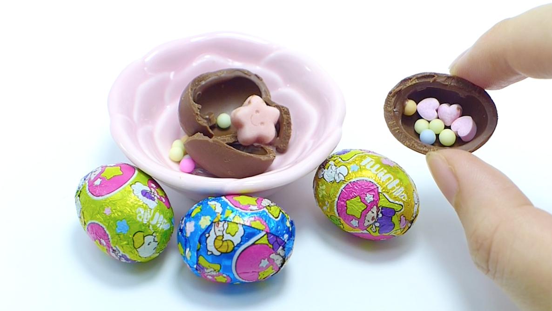 Sue's Cutie Closet : Meiji Twinkle Chocolate Surprise Eggs