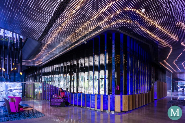 lobby of W Hotel Kuala Lumpur