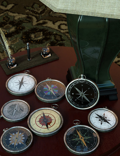 Which Way Compass Props