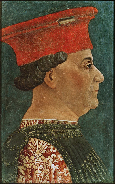 Francesco Sforza, retratado por Bonifacio Bembo