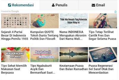 Iklan Matched Content Serta Cara Memasangnya pada Situs Dan Blog