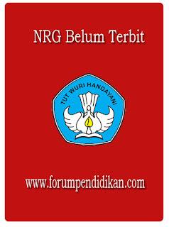 NRG Belum Terbit