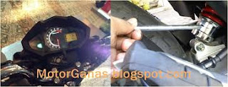 Speedo Meter  All New Megapro PGM-FI