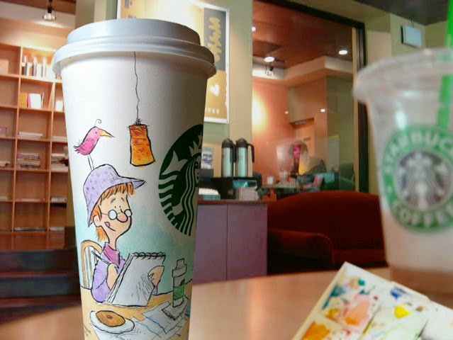 Draw on a Starbucks® Cup