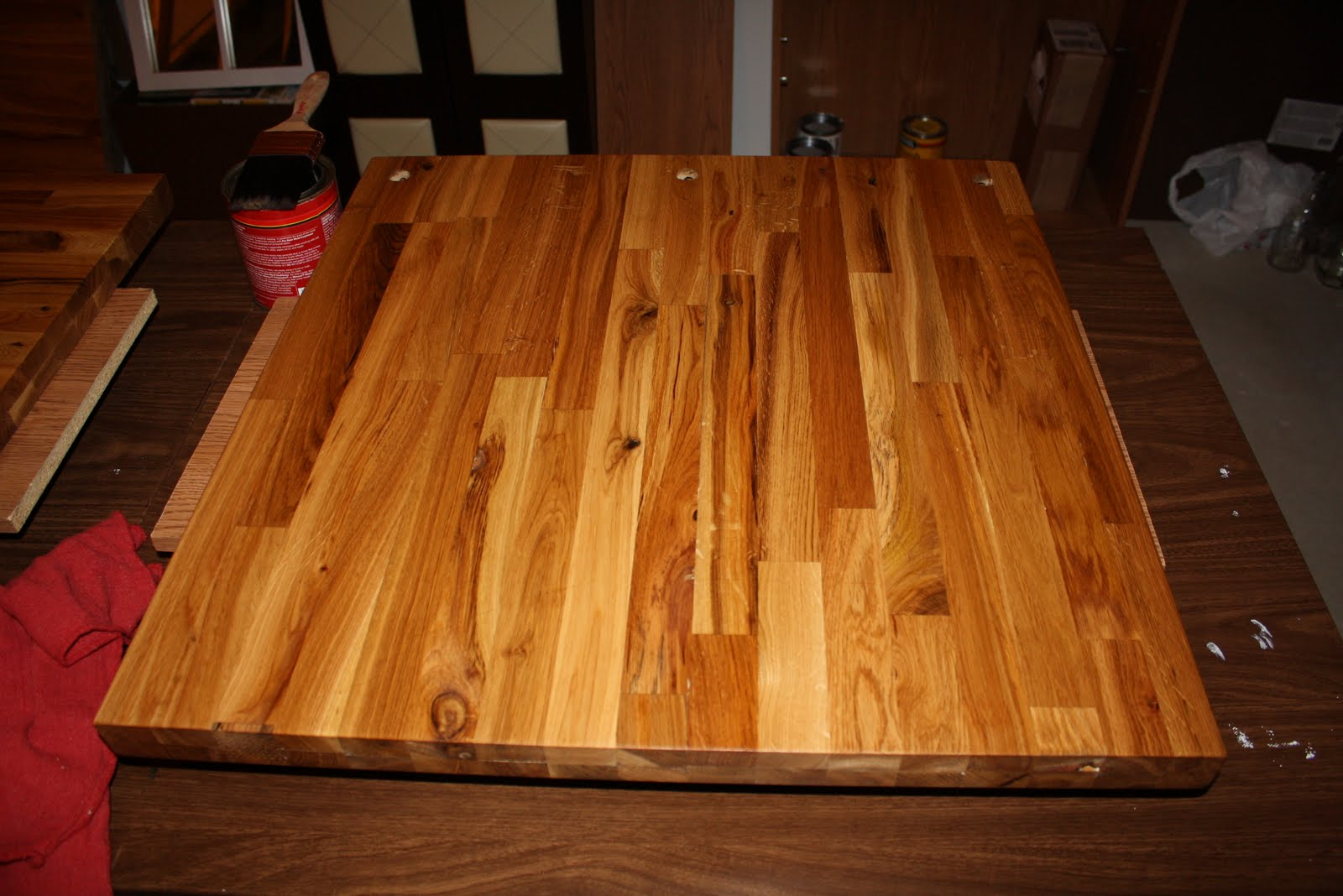 How to Stain Butcher Block Countertops - The Stillwater Story