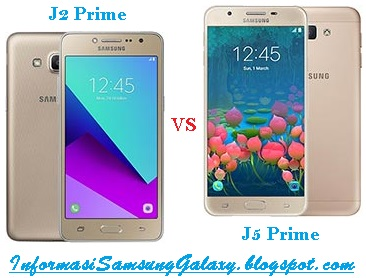 Harga dan Spesifikasi Samsung Galaxy J2 Prime vs J5 Prime