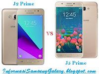 Samsung Galaxy J2 Prime vs J5 Prime Harga dan Spesifikasi