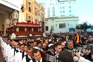 La CCTT del Carmen acompañará al Señor de la Humillación el próximo Martes Santo