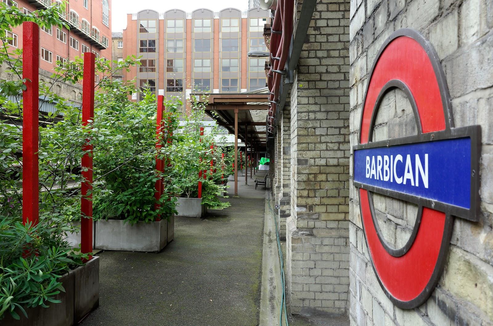 Open Garden Squares London - Barbican pop-up arden