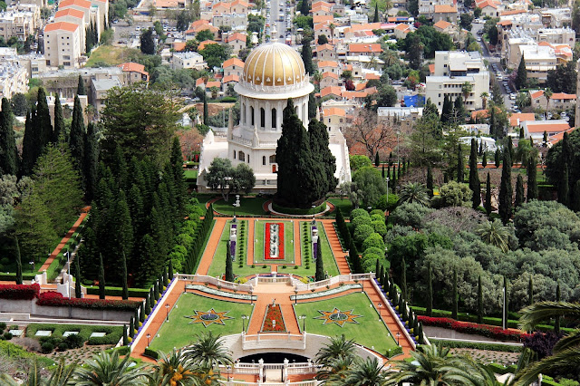 Jardins, paisagismo, Haifa