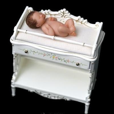 Camille Allen e seus bebês em miniatura
