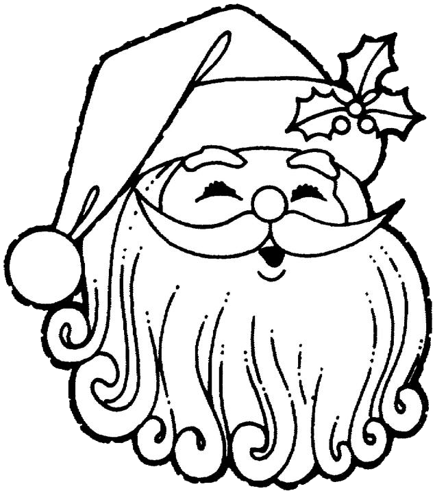 christmas gift: 14 Picture of Coloring Pages Santa