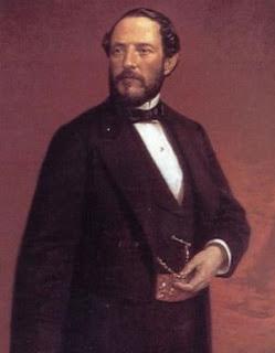 Un retrato de Luis de Madrazo del general Prim.