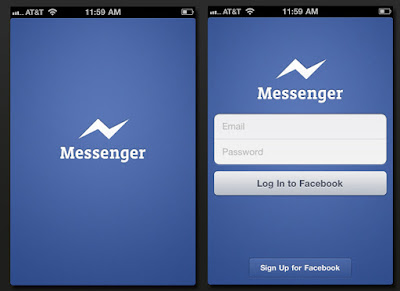 Tải facebook messenger cho android