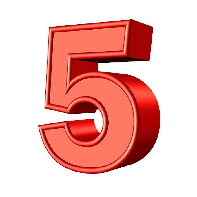 5 Perkara Tentang Diri Sendiri