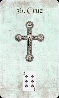 carta de lenormand 36 cruz