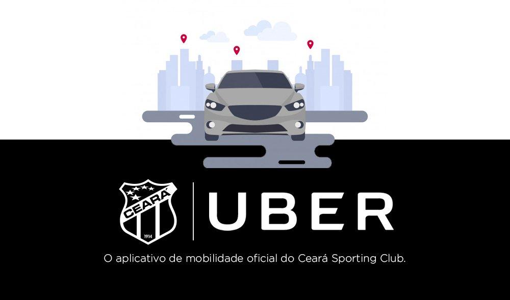 c57994d2531 Uber patrocina Ceará e Fortaleza
