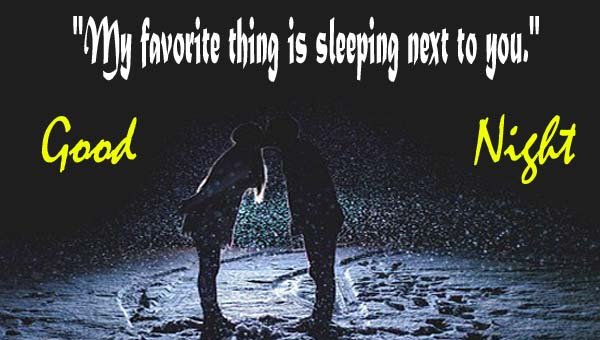 Romantic Good Night Kiss Images for Lovers & Couples with