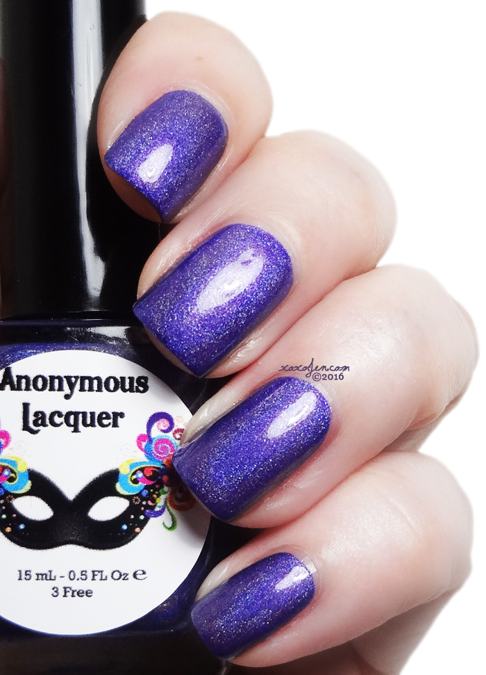 xoxoJen's swatch of Anonymous Lacquer Mermaid Magic