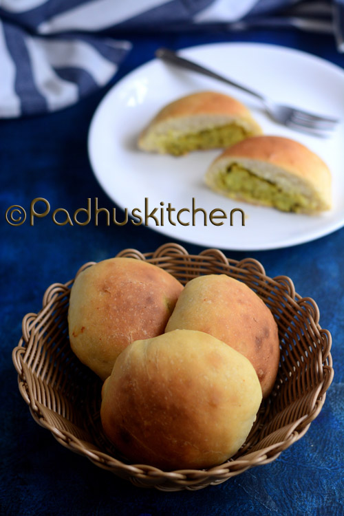 Potato Stuffed Masala Buns