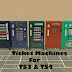 Ticket Machines For TS3 & TS4