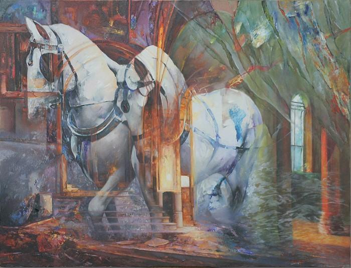 Болгарский художник. Dimitar Kavrakov