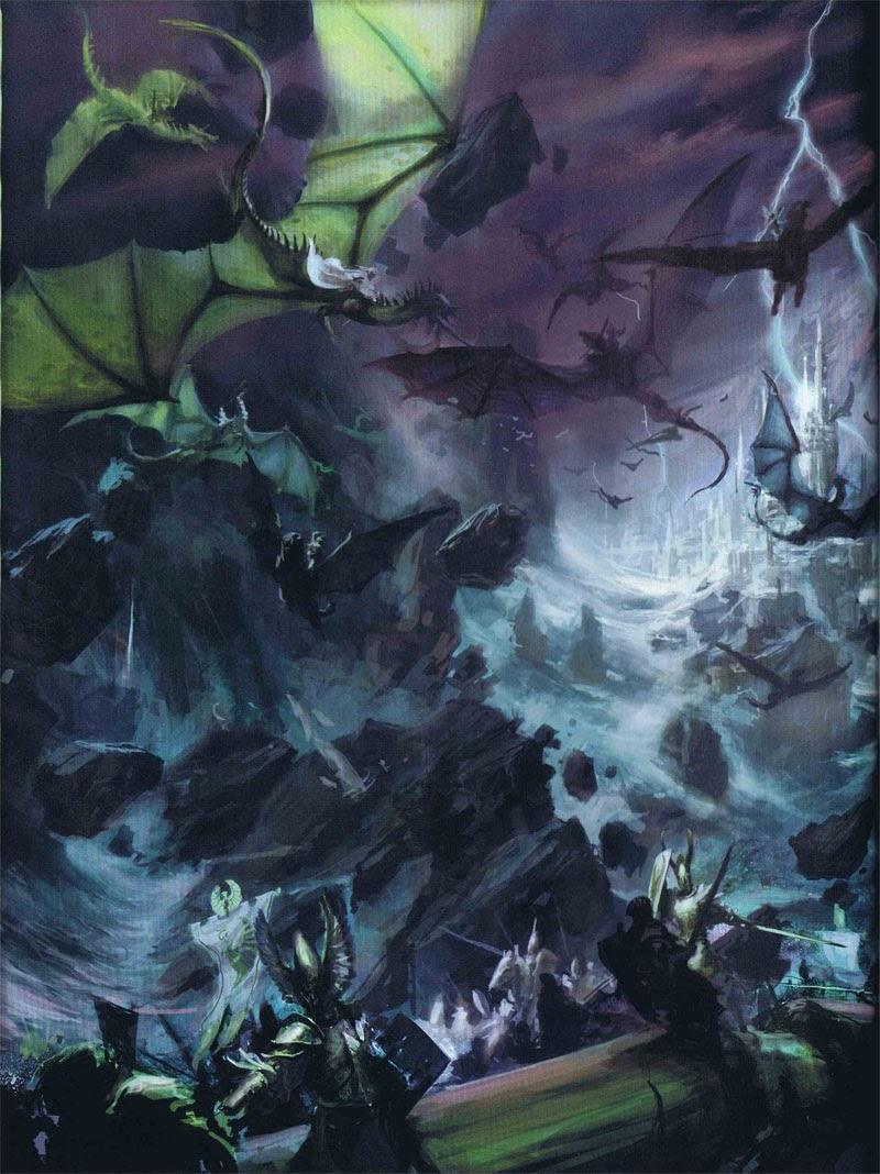 Warhammer High Elves Art Amp Colour Scheme Research Grim