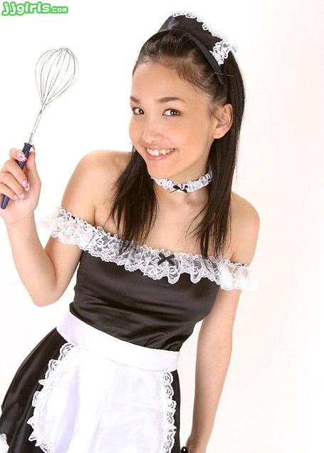 Reon Kadena Japanese Maid Costume Cosplay