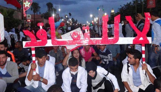 المتعاقدون يصعدون ويمددون إضرابهم