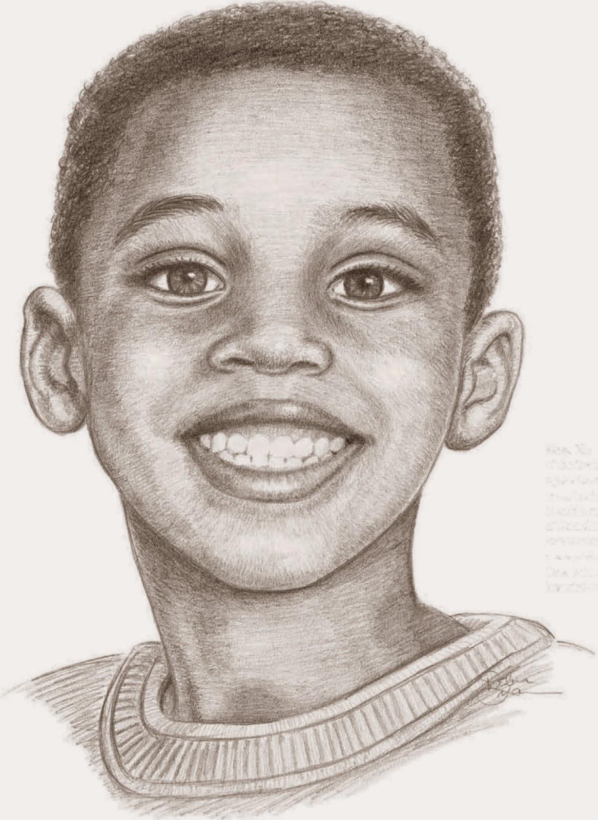 Drawings Replicating Dark Skin Tones